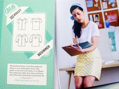 Camisa Violet de Colette Patterns. Sweet sixteen, madrid