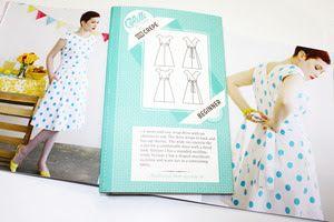 Vestido Crepe: Colette patterns