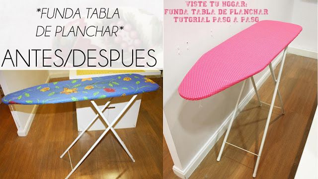 VIDEO TUTORIAL FUNDA TABLA DE PLANCHAR