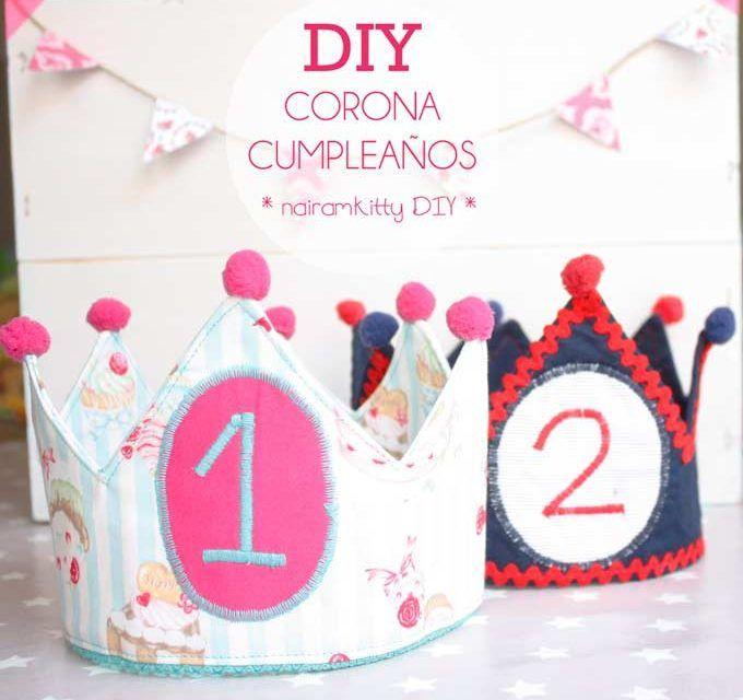 Tutorial corona de cumpleaños patrones gratis para bebe