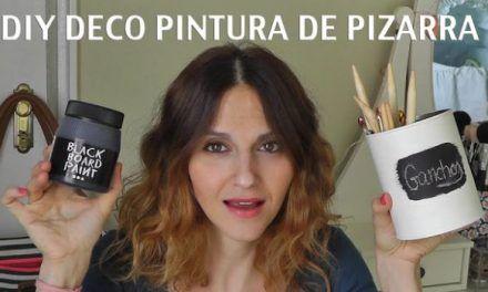 TUTORIAL DIY DECO PINTURA DE PIZARRA