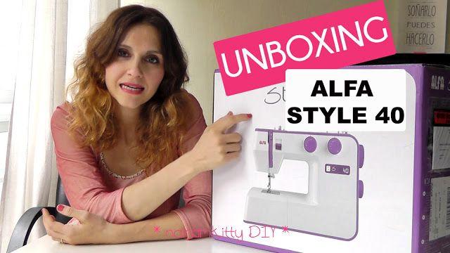 unboxing alfa style 40