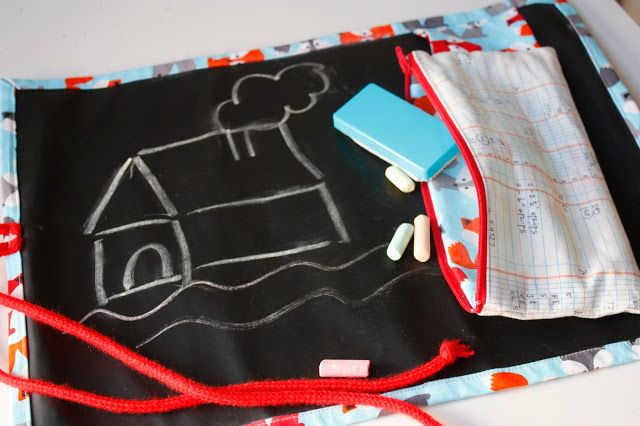 Pizarra enrollable de Viaje para niños