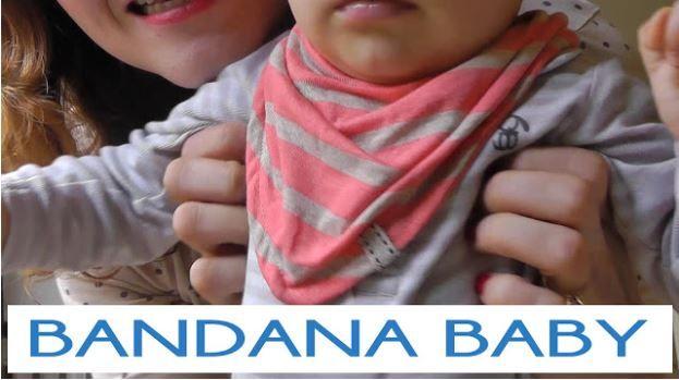 Cómo hacer una bandana babero de bebé (PATRONES GRATIS)