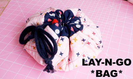 Como hacer un neceser Lay-n-go