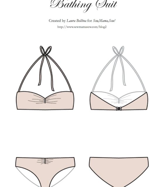 Como coser un bikini este verano - nairamkitty DIY