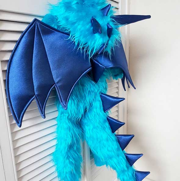 TUTORIAL DISFRAZ DRAGON I CARNAVAL I DESAFIO HANDBOX