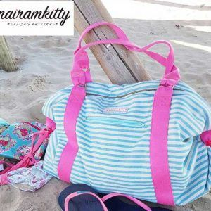 como hacer una bolsa de playa