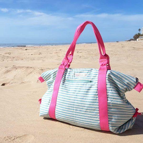 cose bolso playa weekend bag