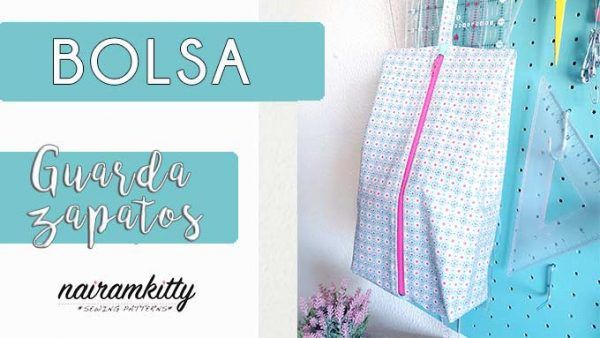 diy bolsa guarda zapatos