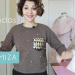 3 IDEAS PARA CUSTOMIZAR TU ROPA | DIY | MAMA COSTURERA