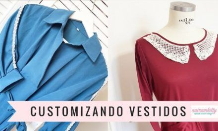 Ideas para customizar vestidos fácilmente