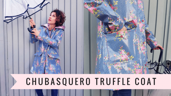 chubasquero truffle coat