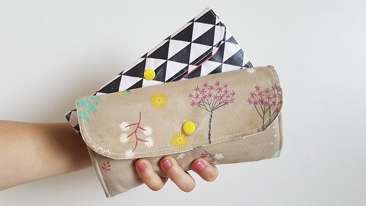 Cartera monedero de mujer: Aprende a coserla en mi curso
