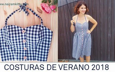Patrones para coser ropa de mujer en verano | SUMMERS SEWINGS 2018