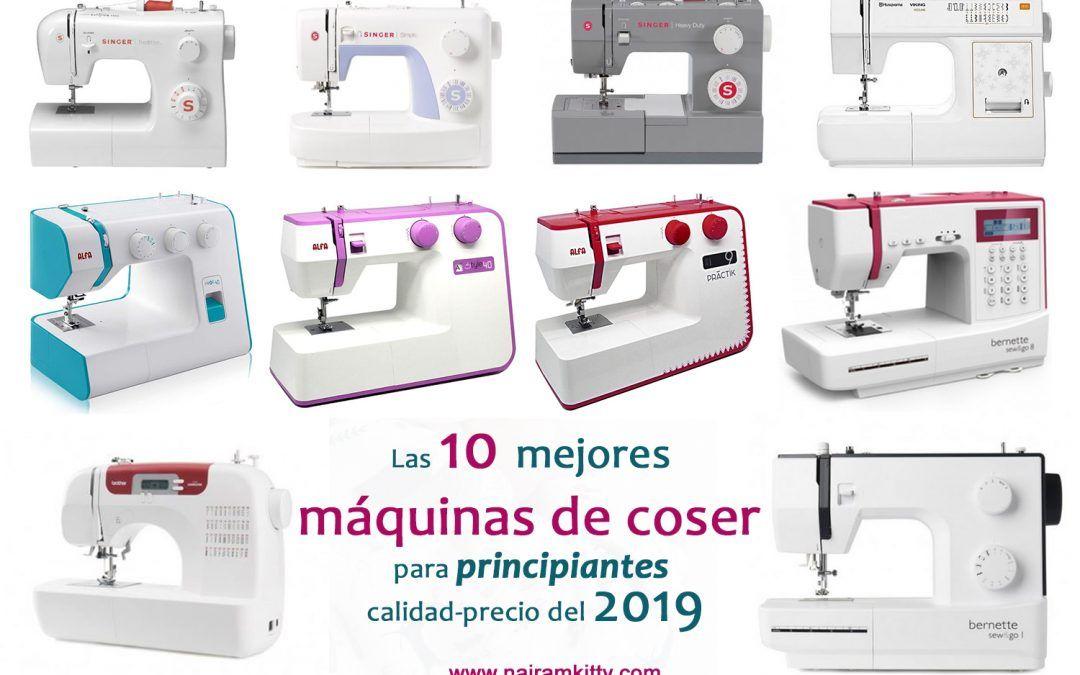 Las 10 mejores máquinas de coser para principiantes del 2019