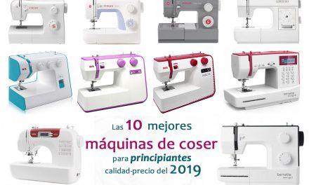 Las 10 mejores máquinas de coser para principiantes calidad-precio del 2019