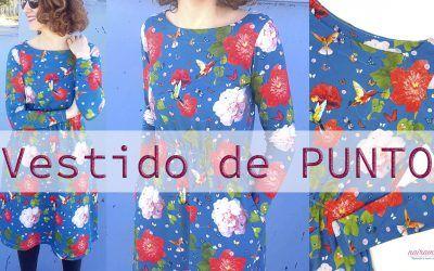 Tutorial cómo coser un vestido de punto con bolsillos. Trucos para coser tejidos elásticos.