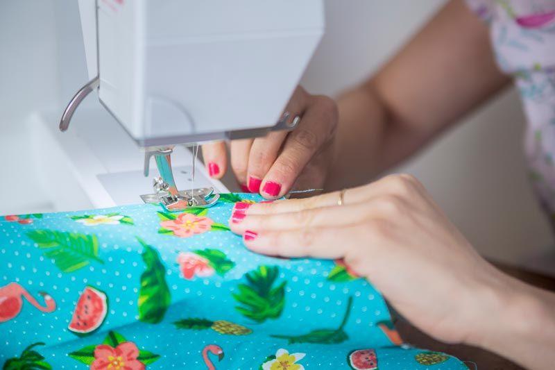 aprende a coser a máquina