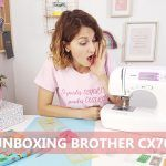 ✂️ Unboxing y reseña máquina de coser Brother CX70PE
