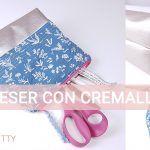 Cómo coser un neceser con cremallera: confección y trucos